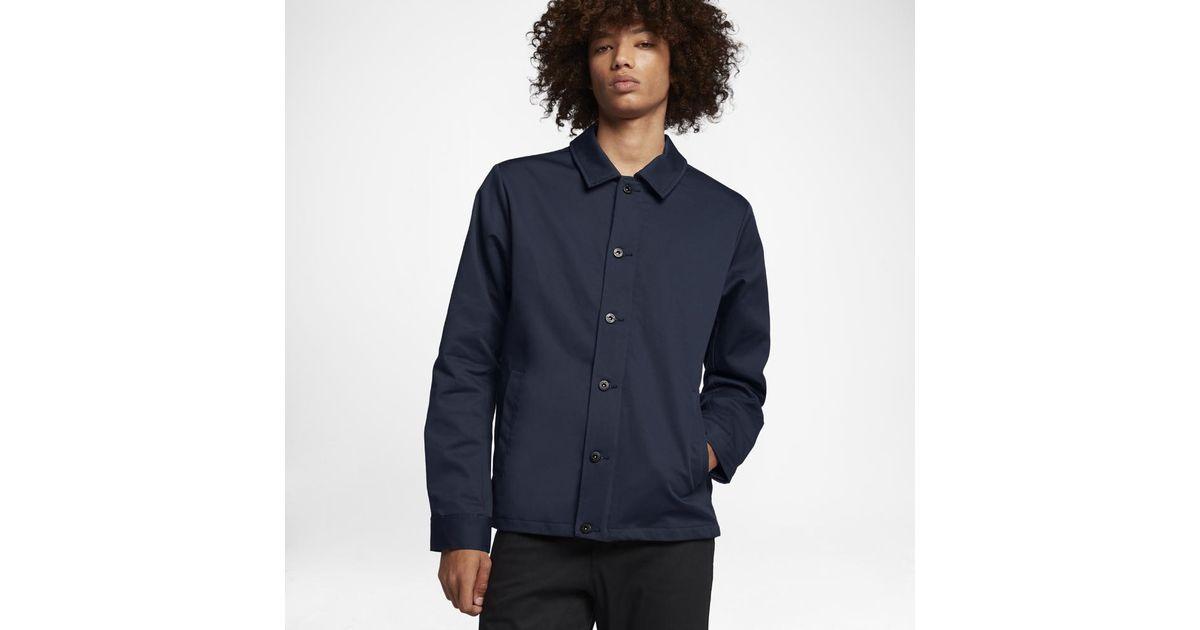 e043388829 Lyst - Nike Sb Flex Coaches Men s Jacket in Blue for Men