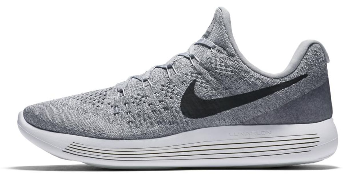 7c5707cd2d89 Lyst - Nike Lunarepic Low Flyknit 2 Men s Running Shoe in Gray for Men