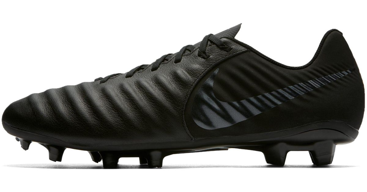 brand new c78a6 37cb9 Nike - Black Tiempo Legend Vii Academy Firm-ground Football Boot - Lyst