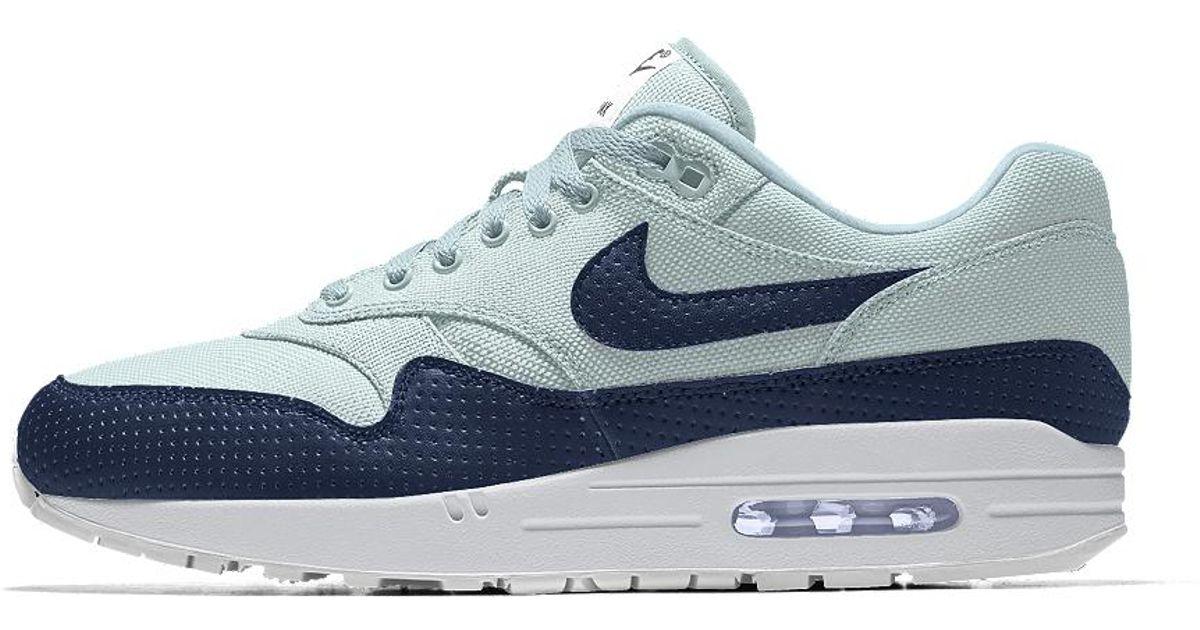 big sale 3bb0e 9e2e7 Lyst - Nike Air Max 1 Premium Id Men's Shoe in Blue for Men