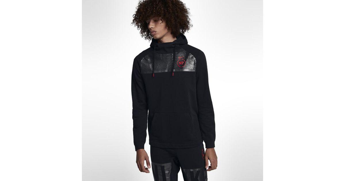 e8b0a59b3 Nike Sportswear Rally N7 Men's Pullover Hoodie in Black for Men - Lyst