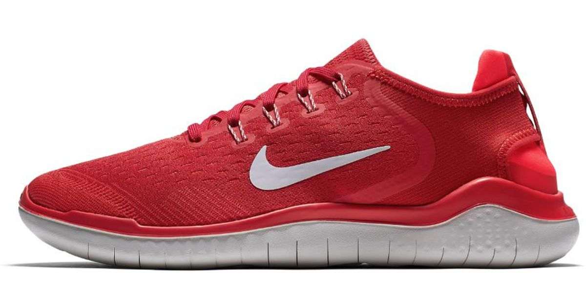 021df6d3d5ede ... germany lyst nike free rn 2018 mens running shoe in red for men be0a2  30358