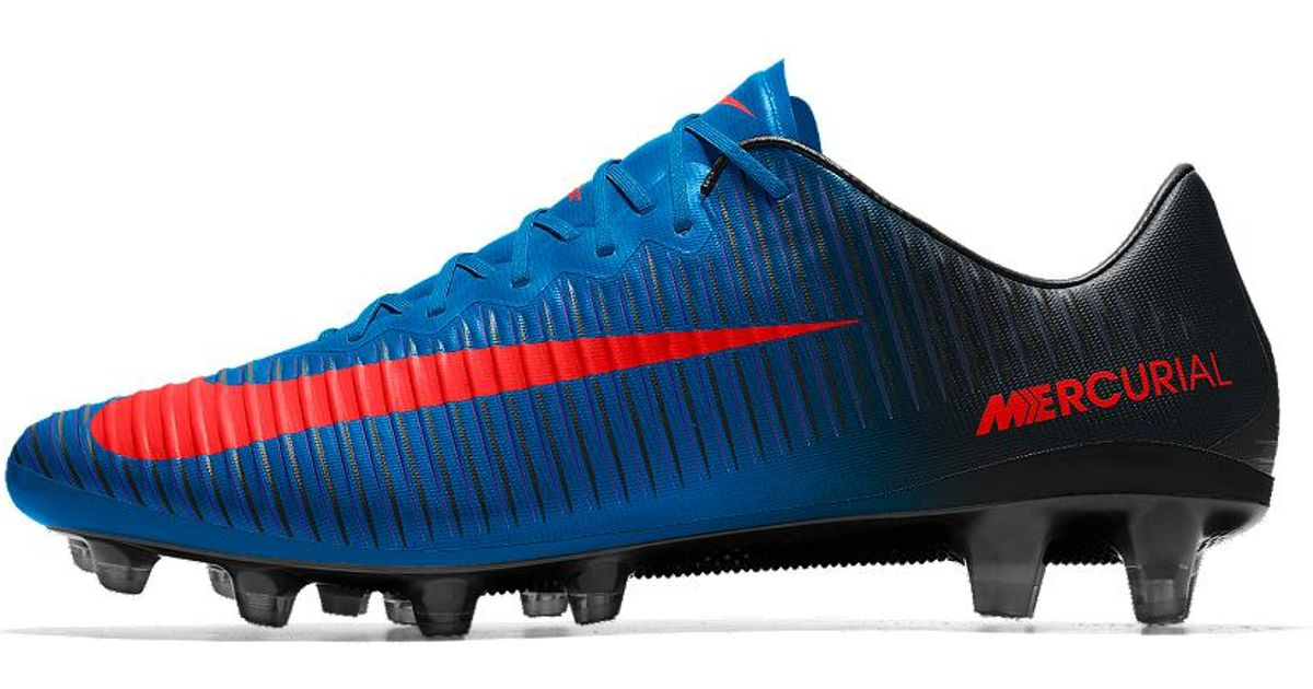 6f5dce5318a Lyst - Nike Mercurial Vapor Xi Fg Id Men s Firm-ground Soccer Cleats in  Blue for Men