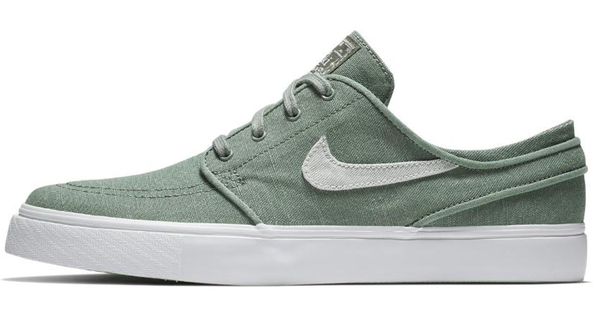 outlet store 7d3e8 3a705 Nike Sb Zoom Stefan Janoski Canvas Deconstructed Men s Skateboarding Shoe  in Green for Men - Lyst