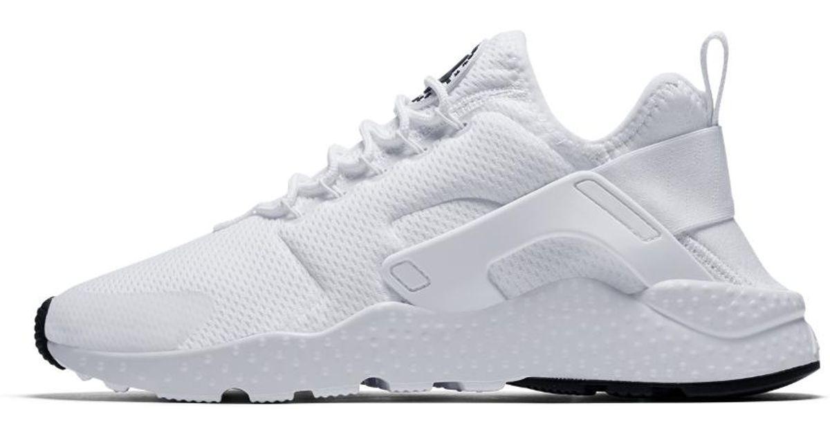 premium selection 8cdfe 50d9b authentic lyst nike air huarache ultra womens shoe in white 08610 8deb0
