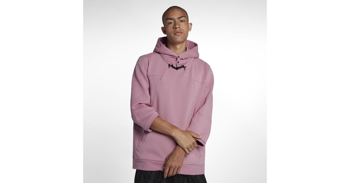 2d5ca56d98e5 Lyst - Nike Lab Acg Men s Fleece Top in Pink for Men
