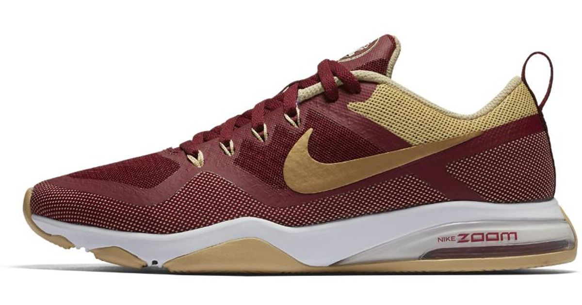 152b6ea4cb8 ... Shoes  Lyst - Nike Zoom Fitness College (florida State) Women s  Training Shoe in Brown ...