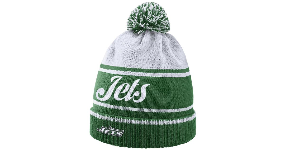 Lyst - Nike Historic (nfl Jets) Knit Hat (green) - Clearance Sale in Green  for Men d72e4d0be