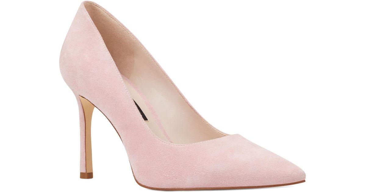Lyst - Nine West Emmala Pointy Toe Pumps in Pink