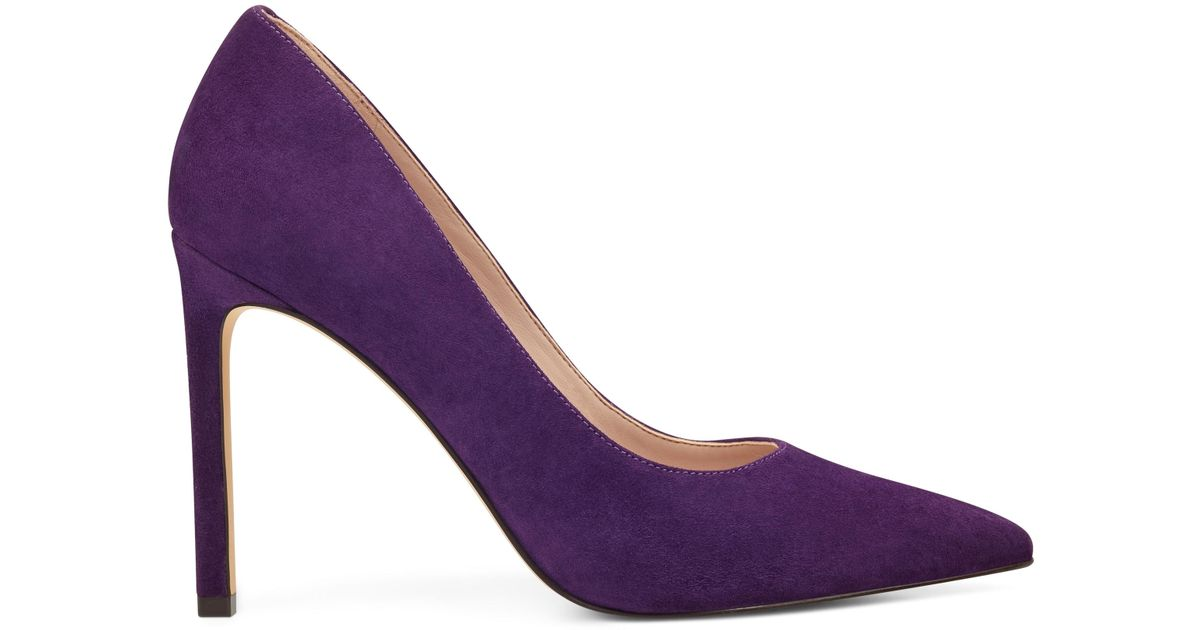 e3e4b04cdd5b Lyst - Nine West Tatiana Pointy Toe Pumps in Purple - Save 51%