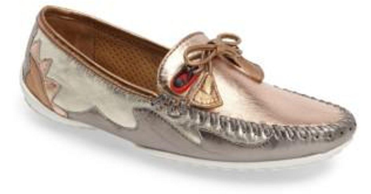 f852494ac62 Lyst - Robert Zur Mare Driving Shoe