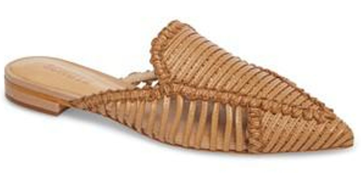 Schutz Women's Marli Huarache Mule MoROCRe