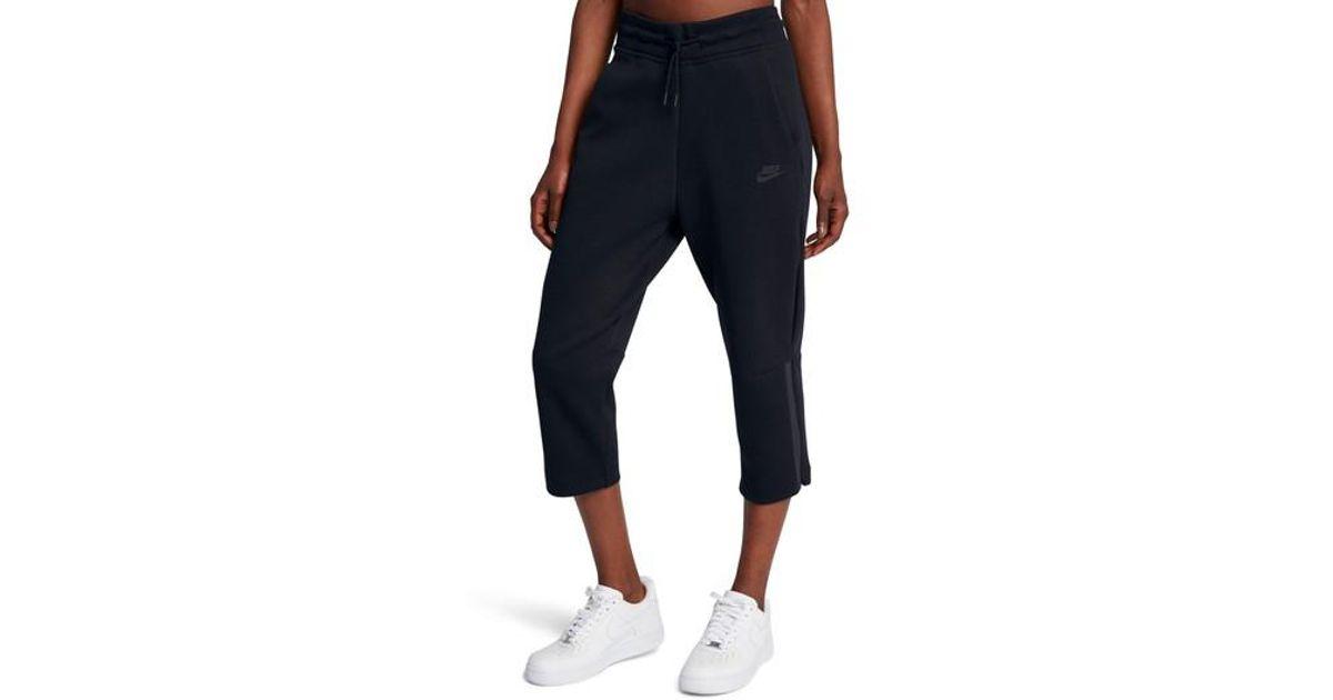 32a774555595 Lyst - Nike Sportswear Women s Tech Fleece Sneaker Pants in Blue