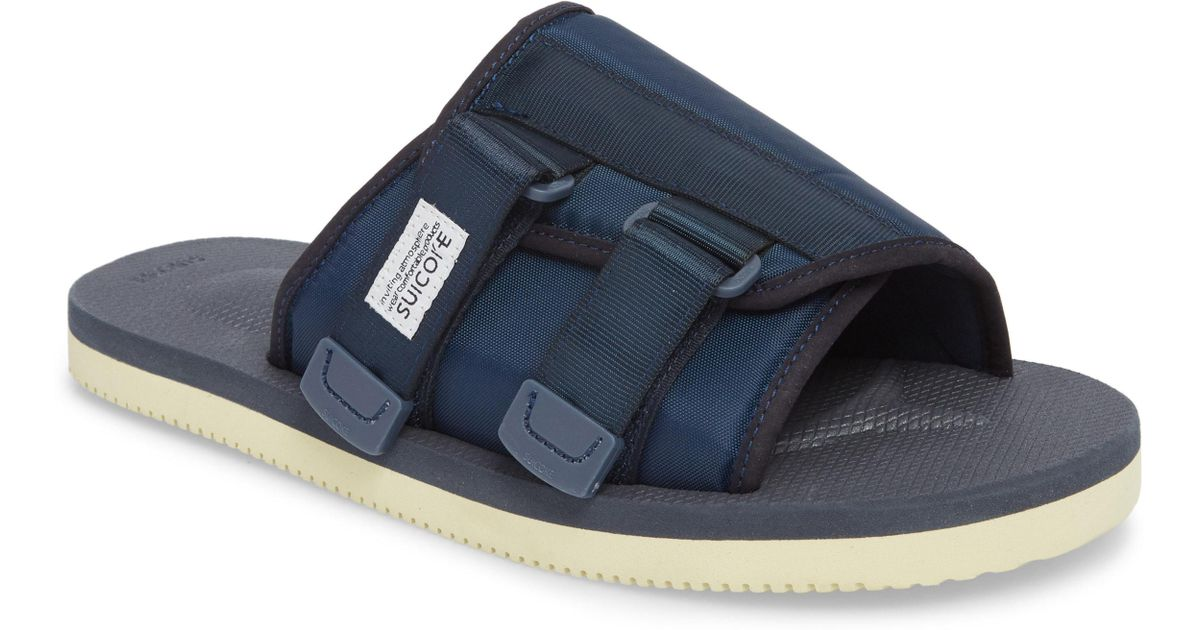 246e145c24c Suicoke Kaw Cab Slide Sandal in Blue for Men - Lyst