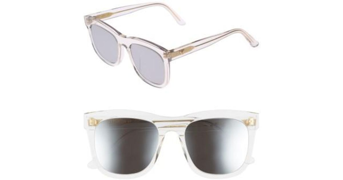 be8d83a05a69 Lyst - Gentle Monster Pulp Fiction 54mm Sunglasses - Clear Mirror in  Metallic