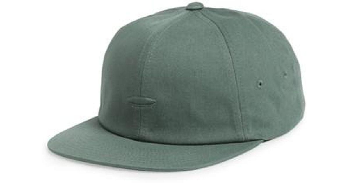 Lyst - Vans Salton Ii Ball Cap in Green for Men 47d64df6f0d