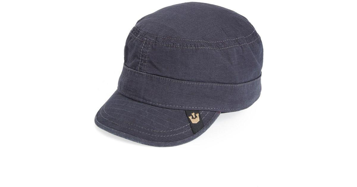 Lyst - Goorin Bros Private Ripstop Cadet Cap - in Blue for Men ff901cc4c83