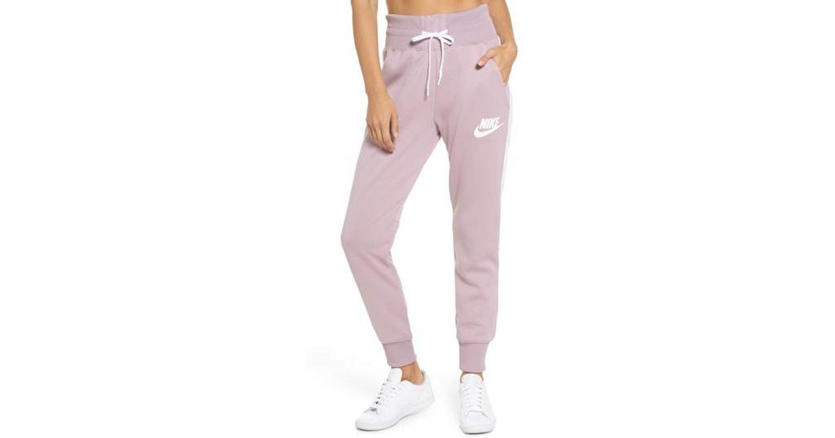 5096ed1c Nike Sportswear Jogger Pants in Pink - Lyst