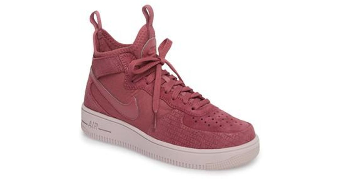 new arrivals 068ce c9b4e Nike Air Force 1 Ultraforce Mid Fif Sneaker - Lyst