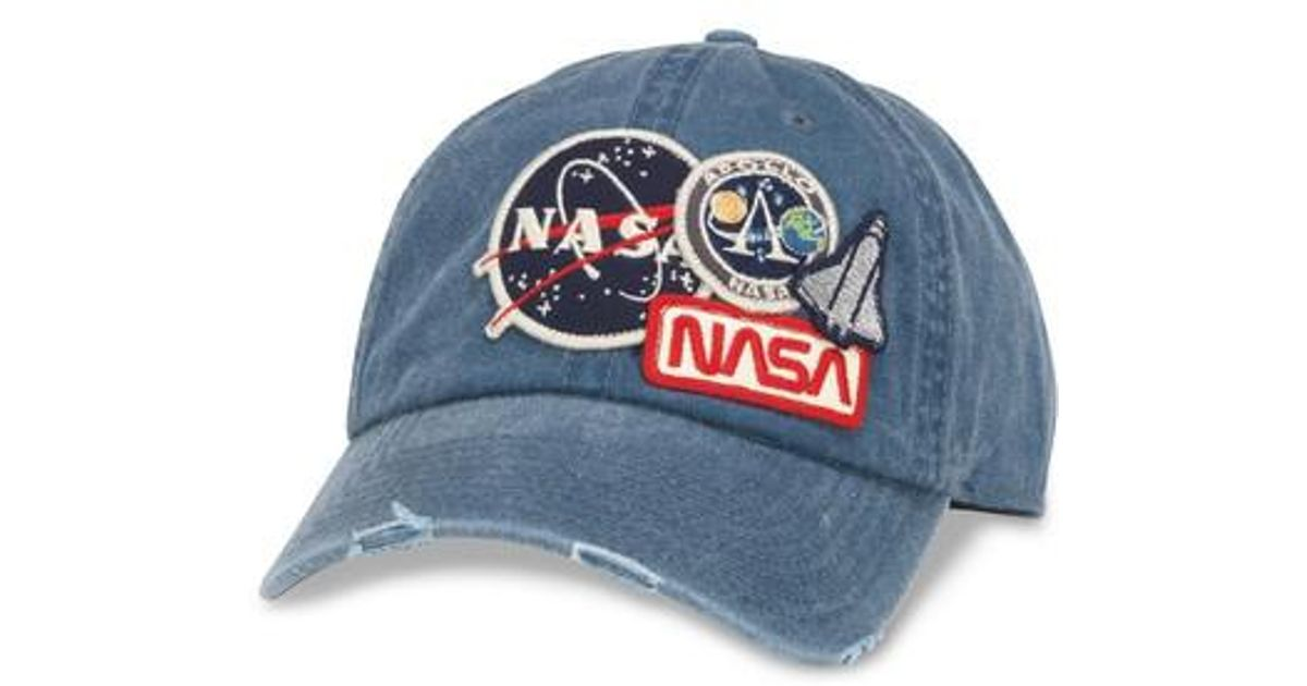 cae95e8aee5e4 American Needle Iconic - Nasa Ball Cap in Blue for Men - Lyst