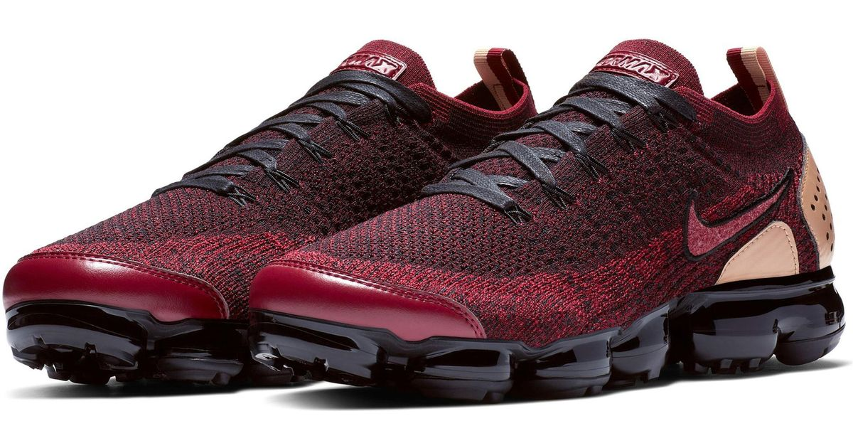 1a09ca4ae0 Nike Air Vapormax Flyknit 2 Nrg Running Shoe in Red for Men - Lyst