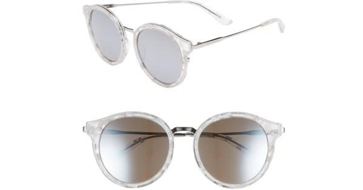 840b106b2f44 Lyst - Juicy Couture 52mm Round Sunglasses