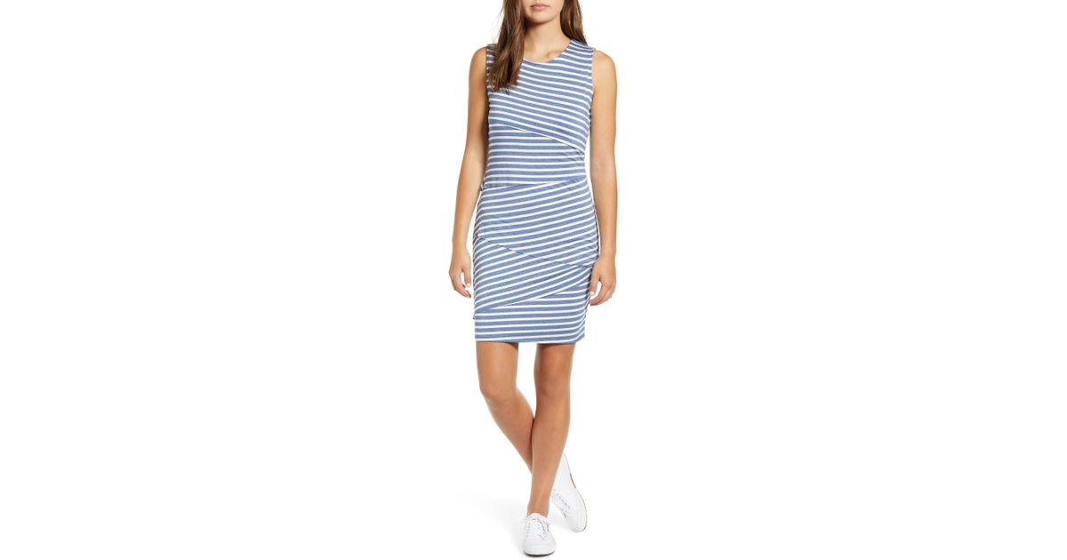 102ade9ad0059 Gibson X The Motherchic Sarasota Layered Jersey Knit Dress in Blue - Lyst