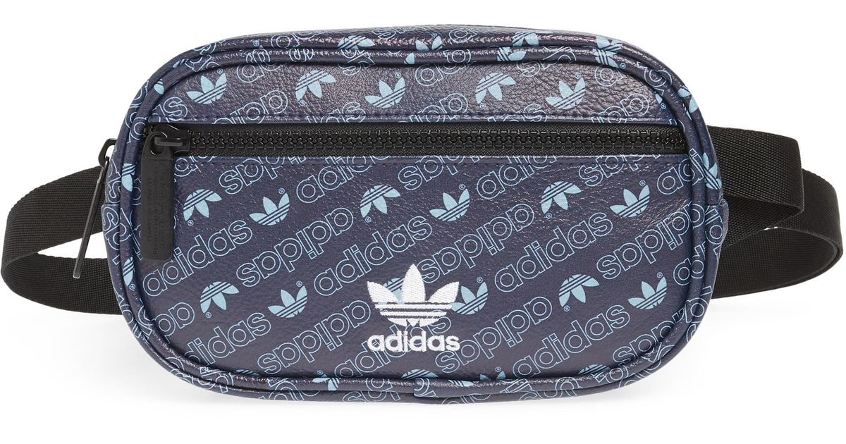 adidas Adidas Originals Faux Leather Belt Bag Blue from NORDSTROM | ShapeShop
