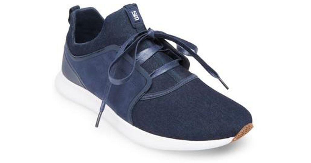 300a56c1eb5 Lyst - Steve Madden Barrett Sneaker in Blue for Men