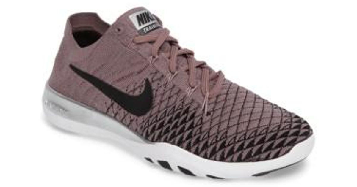 942ffd998439 Lyst - Nike Free Focus Flyknit 2 Bionic Training Shoe