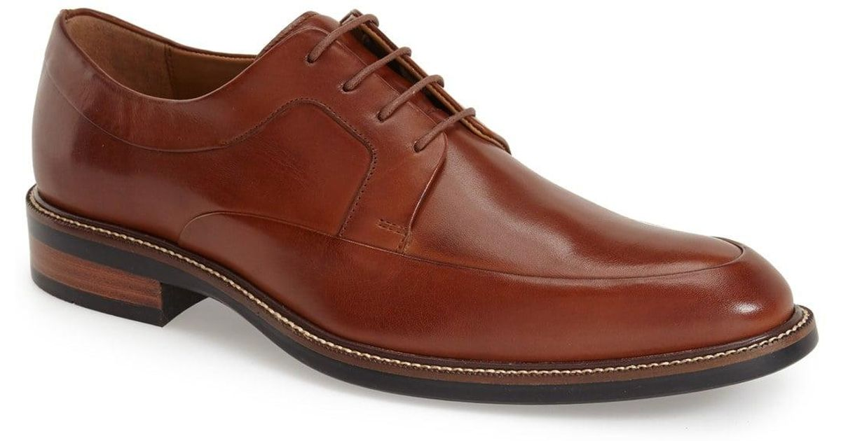 57be13f3cba Lyst - Cole Haan  warren  Apron Toe Derby in Black for Men - Save 81%