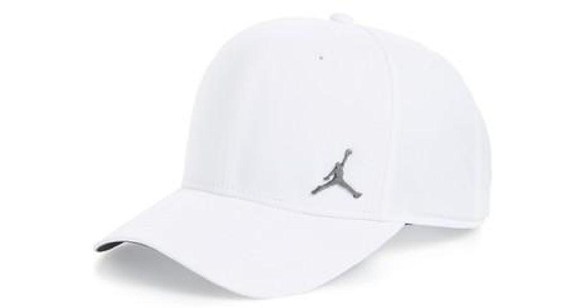 timeless design 22316 a266e ... canada factory price 43c4c 93ee4 lyst nike jordan jumpman classic 99  baseball cap in white d9f05
