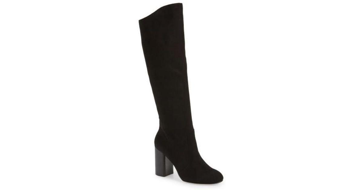 1fd8d7a9f0b Lyst - Dolce Vita Rhea Knee High Boot in Black