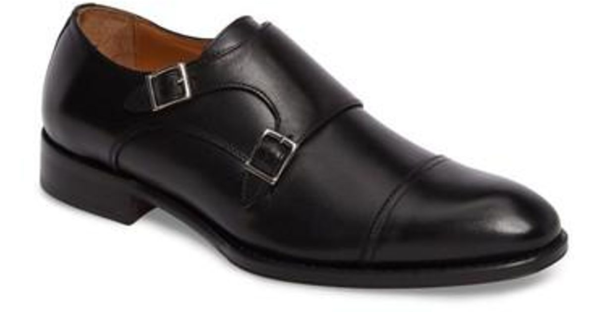 7fc6876c5a6 Lyst - John W. Nordstrom John W. Nordstrom Stratton Double Monk Strap Shoe  in Black for Men