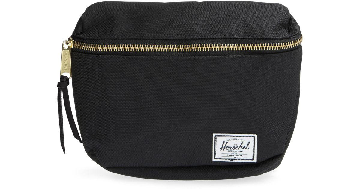5e4cd9bde8 Lyst Herschel Supply Co Fif Belt Bag In Black