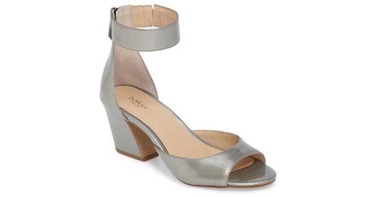 98a2b3e9248 Lyst - Botkier Pilar Ankle Strap Sandal
