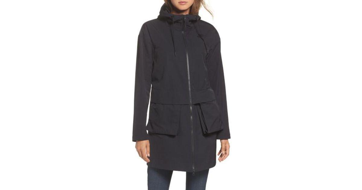 Lyst - Nike Sportswear Shield Parka in Black 85f07c3c13