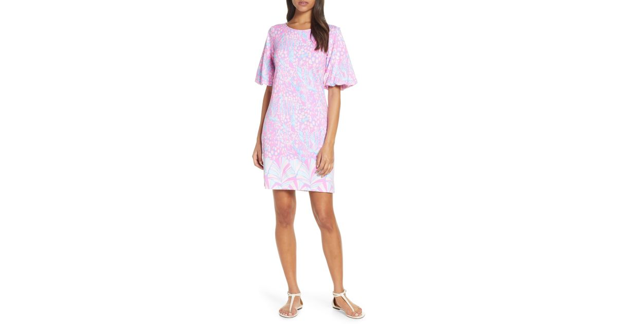 5f32d6be1c6d01 Lilly Pulitzer Lilly Pulitzer Britton Shift Dress in White - Lyst