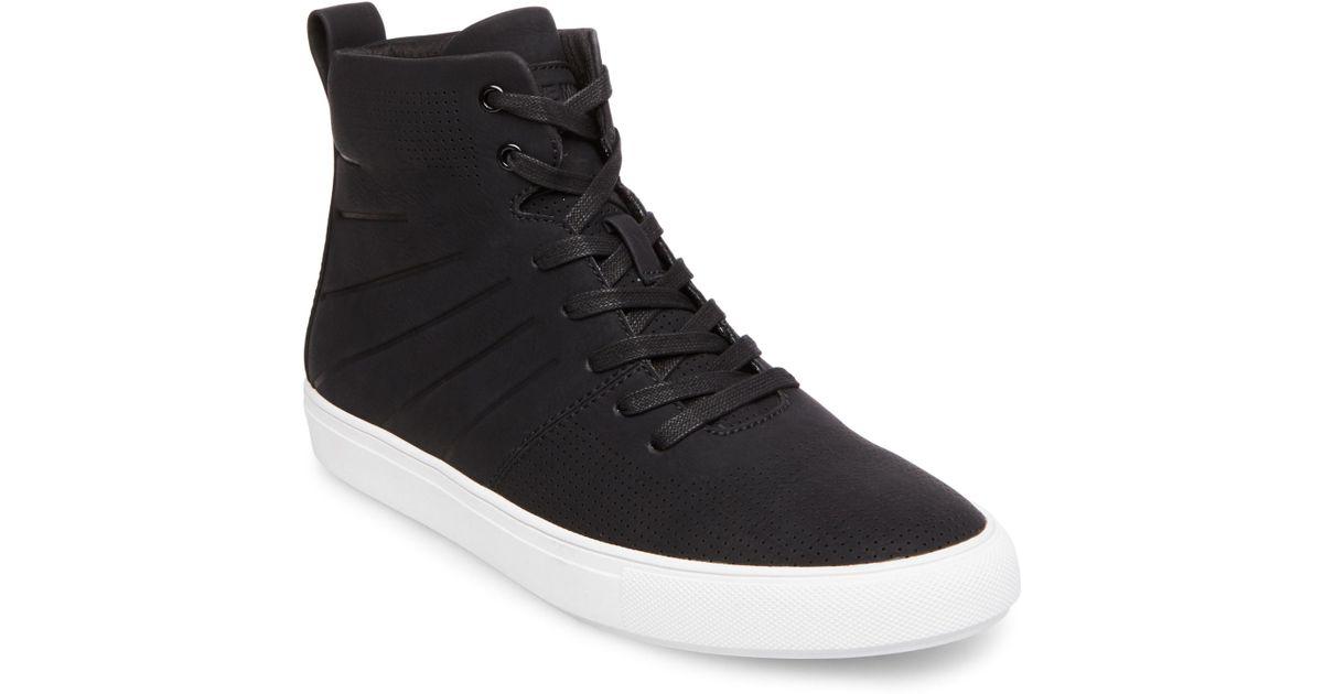 598bcdebf01 Lyst - Steve Madden Eskape Sneaker in Black for Men - Save 51%