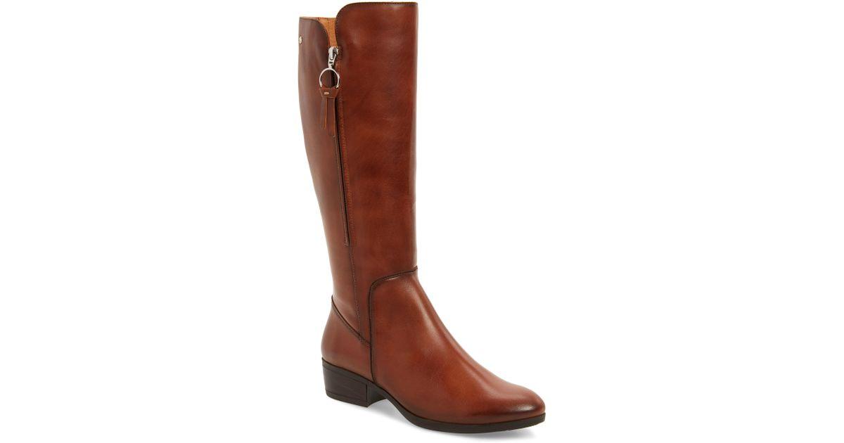 7e6b46dacf19 Lyst - Pikolinos Daroca Knee High Boot in Black