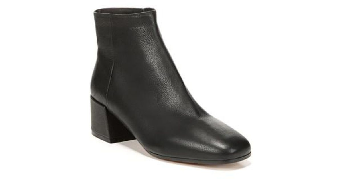 Vince Ostend Leather Bootie C7t6PXU
