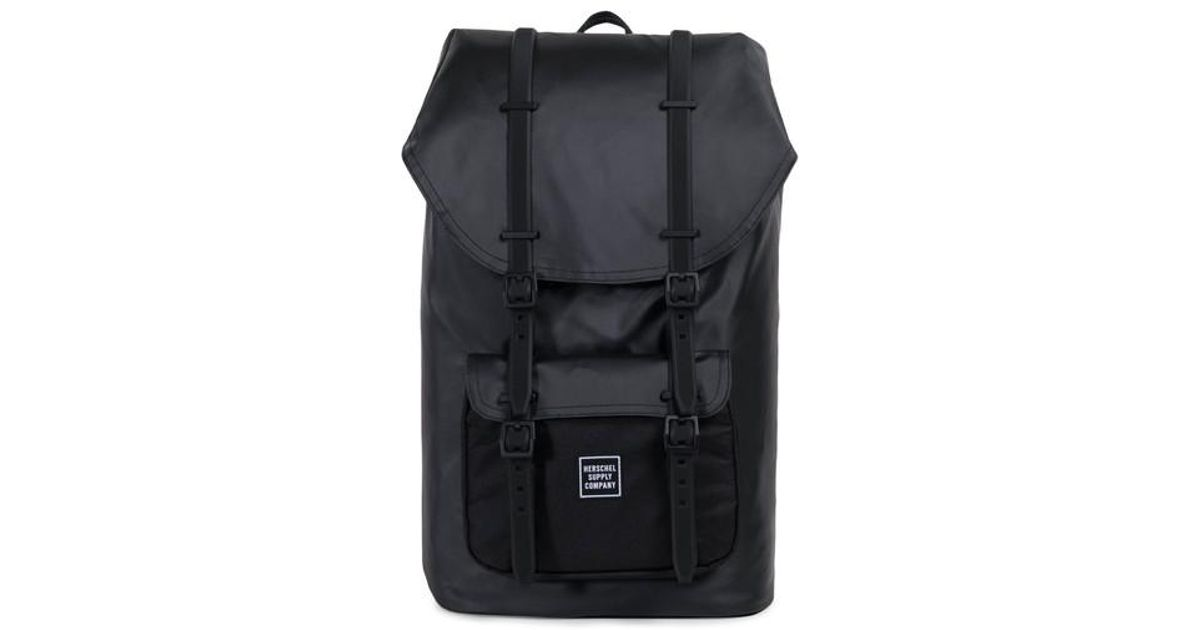 bcfe90b803a Lyst - Herschel Supply Co. Little America Studio Collection Backpack in  Black