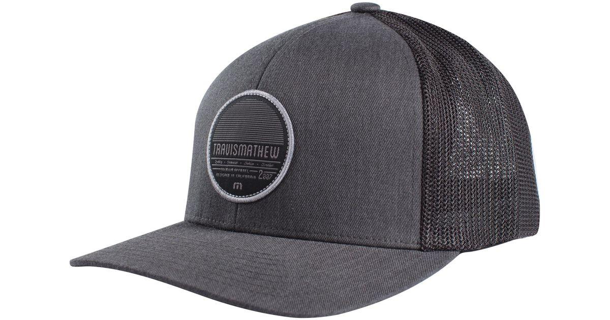 Lyst - Travis Mathew Ripper Trucker Hat - for Men 0134d912a188