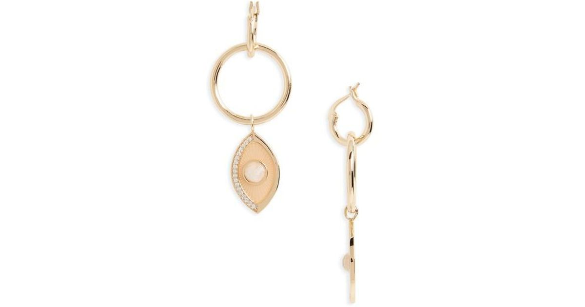 Melanie Auld x REVOLVE Starburst Hoop Earrings in Metallic Gold rDJY8dFedK