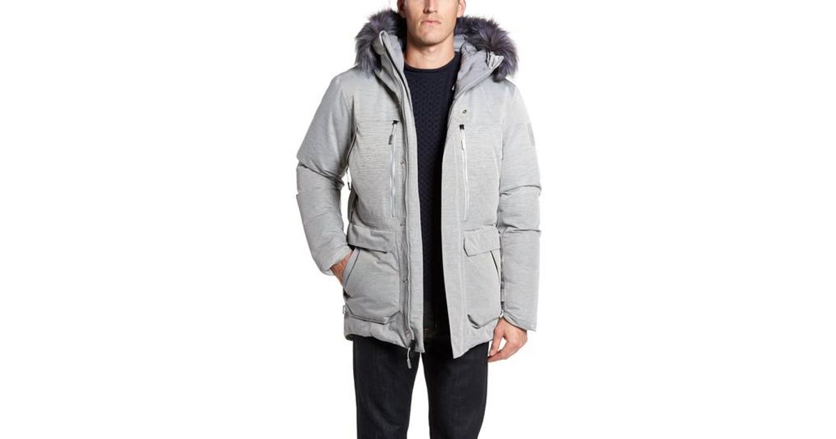 26fe501d0f Lyst - The North Face Cryos Expedition Gore-tex Parka in Gray for Men