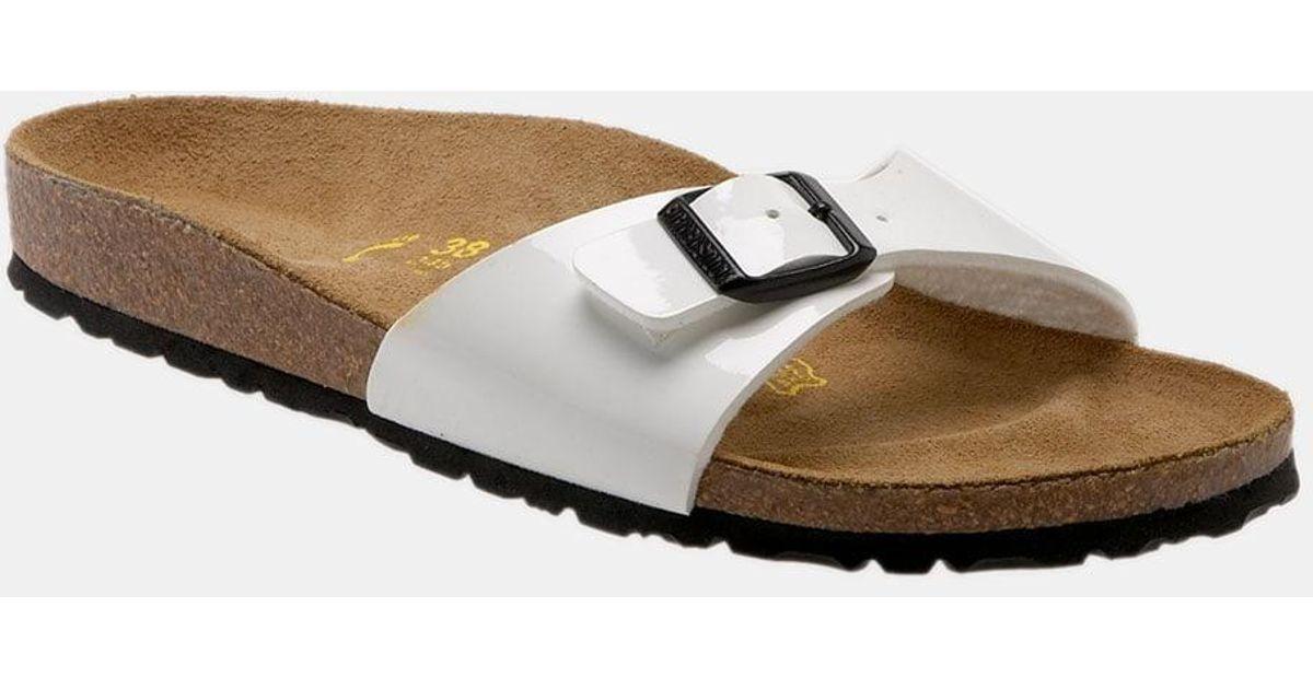 c2033e7f4e5 Lyst - Birkenstock  madrid  Birko-flor(tm) Sandal in White