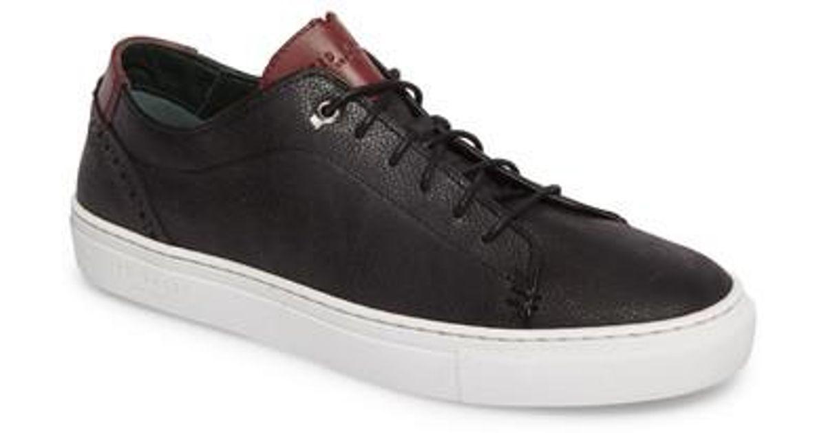 1e98a4874872 Lyst - Ted Baker Duuke Sneaker in Black for Men