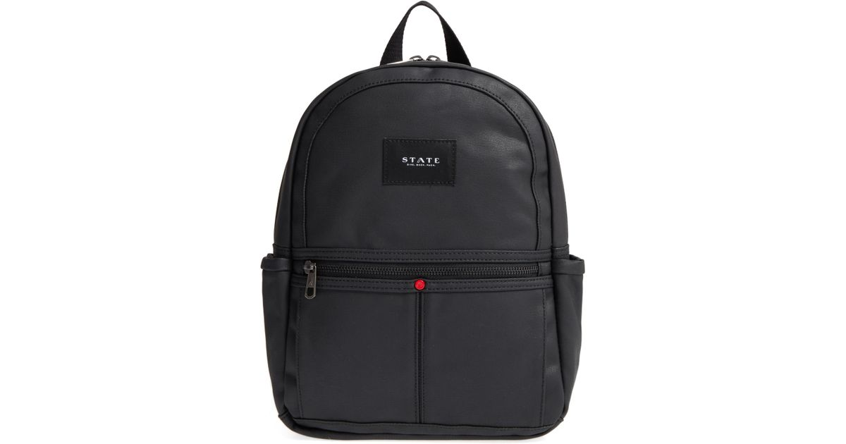58ec69c6025b State Bags Greenpoint Mini Kane Backpack in Black for Men - Lyst