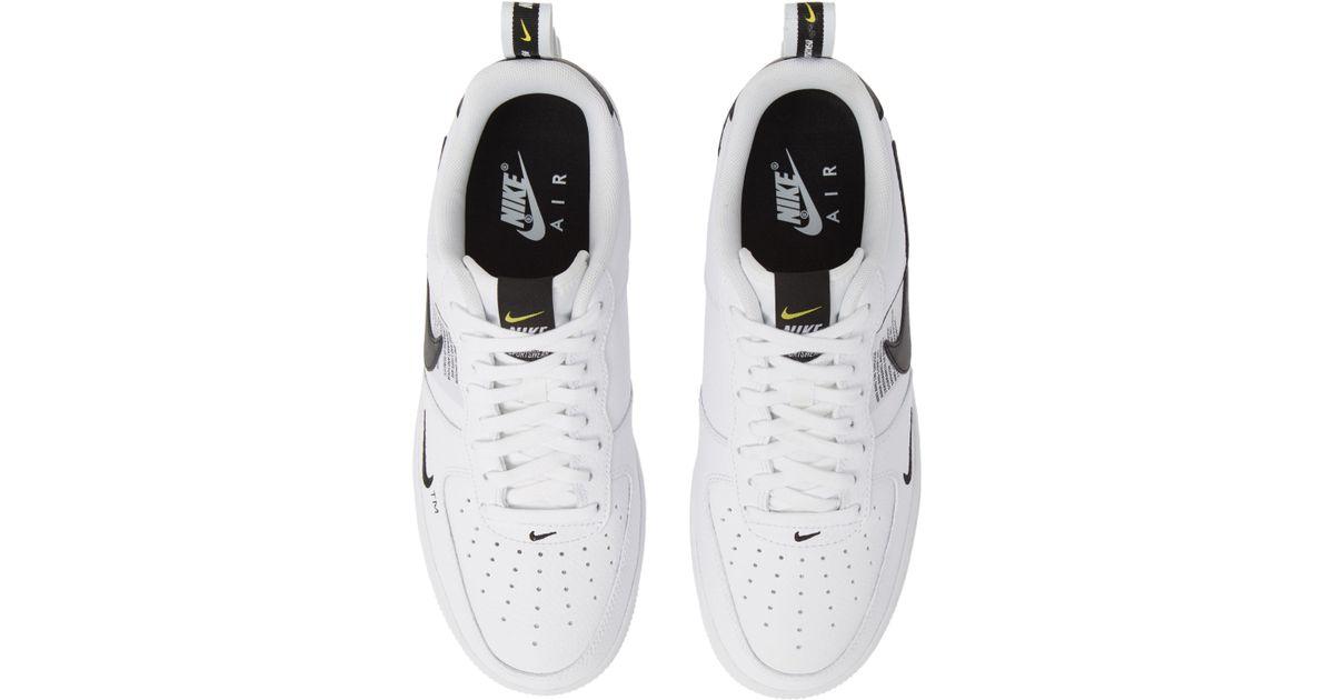 b7ffeb48afb6 Lyst - Nike Air Force 1  07 Lv8 Utility Sneaker in White for Men