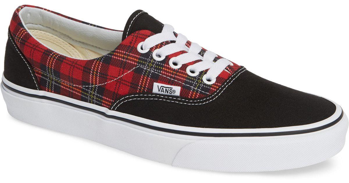 8a3ad4ddcef Lyst - Vans Tartan Pack Era Sneaker